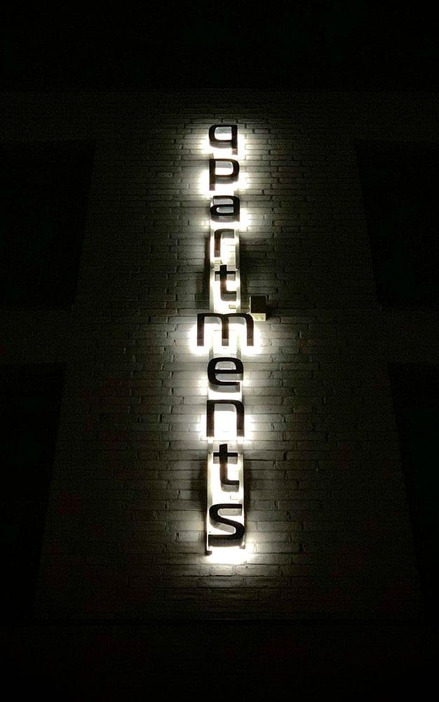 Lichtbuchstaben